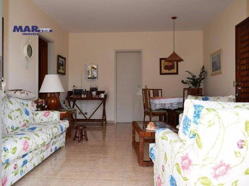 Imagem 1 de 15 de Apartamento Residencial À Venda, Barra Funda, Guarujá - . - Ap8024