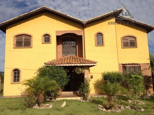 Imagem 1 de 3 de Casa  Residencial À Venda, Village Parahybuna, Paraibuna. - Ca0202
