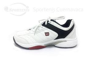 Tenis Wilson Blanco Rojo Wl0189