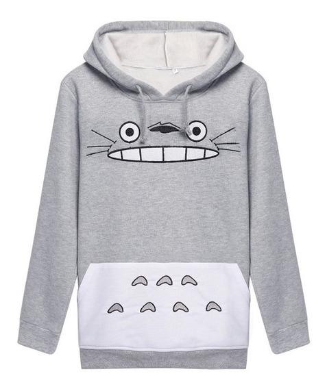 Saco Totoro Hoodie Anime Totoro Adulto Envio Gratis