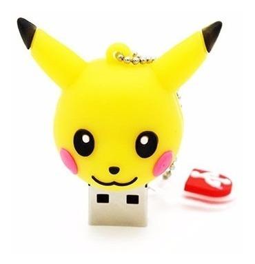 Pen Drive 32gb Pikachu Personalizado Pokemon Usb 2.0