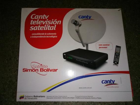 Kit De Antena Para Televisión Satelital(antena,cables)