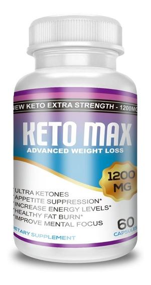 Keto Max Ultra Potente! 1 Mes 1200mg + Dieta Premium