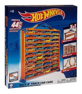 Car Case Racks & Tracks Hot Wheels 44 Autitos