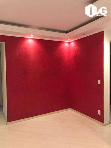Imagem 1 de 18 de Apartamento Com 2 Dormitórios À Venda, 48 M² Por R$ 325.000,00 - Parque Novo Mundo - São Paulo/sp - Ap2501