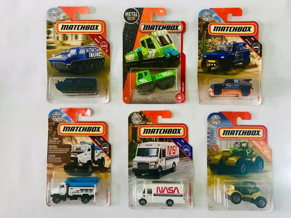 Carritos Camiones Matchbox Blisters Individuales