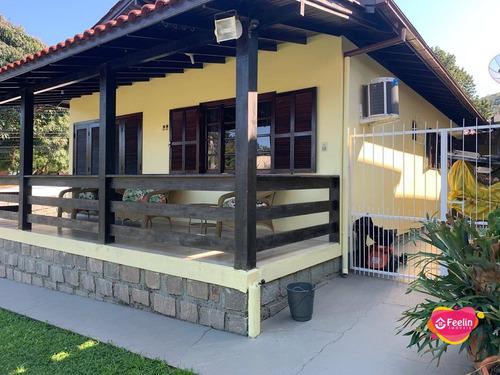 Imagem 1 de 30 de Casa Com 3 Dormitórios À Venda, 148 M² Por R$ 950.000,00 - Campeche - Florianópolis/sc - Sc - Ca0149_feelin