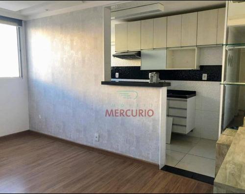 Imagem 1 de 21 de Apartamento À Venda, 47 M² Por R$ 160.000,00 - Jardim Terra Branca - Bauru/sp - Ap3561