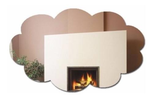 Espelho Decorativo Nuvem Acrílico 40x30cm