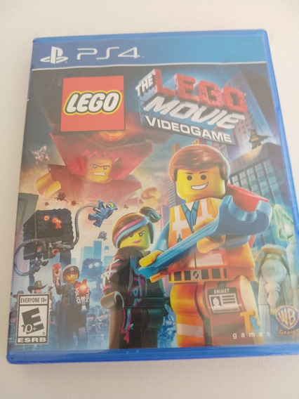 Jogo The Lego Movie Videogame - Ps4 - Mídia Física