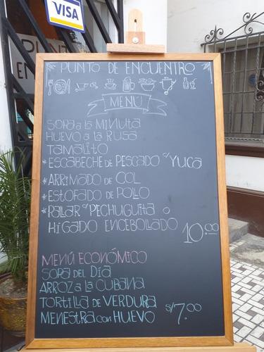 Pizarras Acrilicas Y Tiza