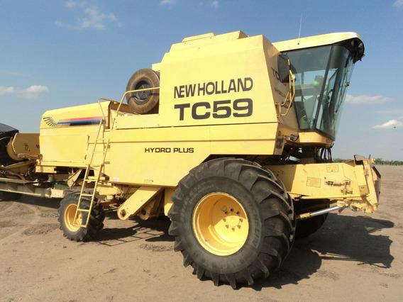 Cosechadora New Holland Tc 59 Año: 1999. 5 Años, Tasa 0%