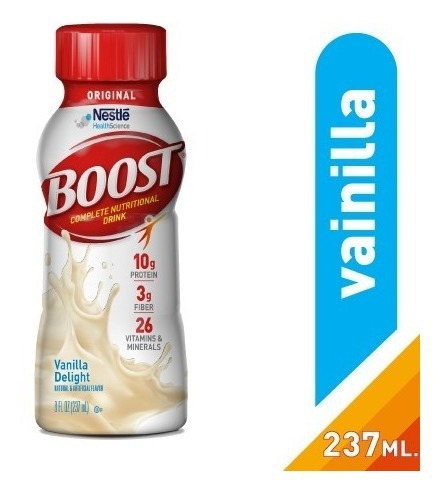 Boost Rtd Vainilla 237ml Nestlé Oficial