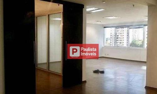 Conjunto Para Alugar, 66 M² Por R$ 2.999,00/mês - Brooklin Paulista - São Paulo/sp - Cj1604