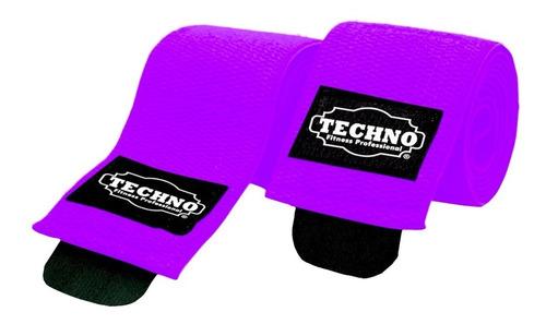 Imagen 1 de 4 de Vendas Para Rodillas Knee Wraps Crossfit Gym Pesas Ejercicio