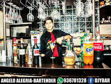 Servicio De Barman Bartender Mozo Dj Barra Movil A Domicilio