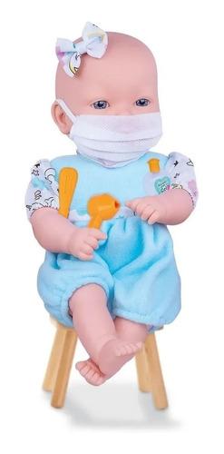 Imagem 1 de 3 de Boneca Hora De Cuidar - Dolls Collection  Cod 432 - Máscara