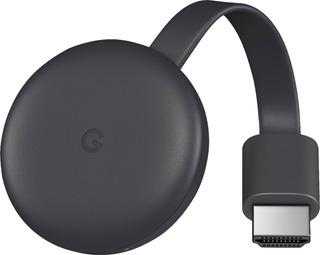 Google Chromecast 3 1080 Original C/fuente Bulk Sin Caja