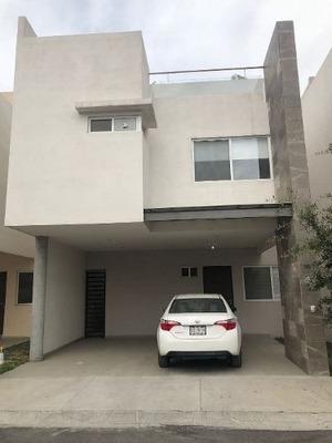 (crm-3633-4622) Casa En Renta Para Estrenar En Santa Catarina