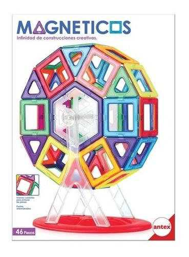 Bloques Magneticos X46 Piezas - Industria Nacional