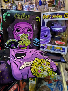Funko Pop Box Thanos Con Remera Talle S