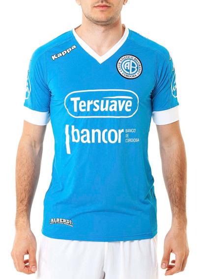 Camiseta De Belgrano Oficial Azul Hombre Kappa