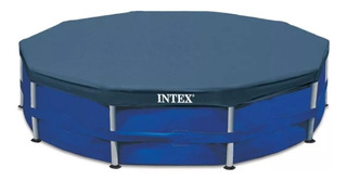 Cobertor Pileta Intex Estructural Cubre Pileta Lona 366