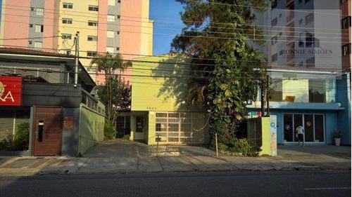 Imagem 1 de 14 de Sobrado, Ponto, Salão Para Alugar Em Moema, 250 M² - São Paulo/sp - So0201