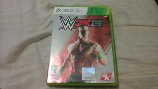 Wwe 2k15 Para Xbox 360, Sin Rayos .es Original