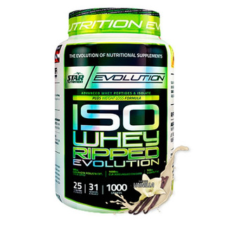Proteína Iso Whey Ripped Star Nutrition 1 Kg - Sin Intereses