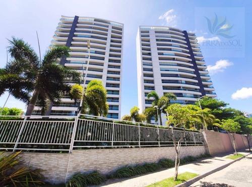 Apartamento Com 3 Dormitórios À Venda, 146 M² Por R$ 1.350.000,00 - Engenheiro Luciano Cavalcante - Fortaleza/ce - Ap0836