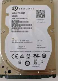 Hd Seagate 7mm 500gb Para Ultrabook, Ps3/ps4 E Xbox One