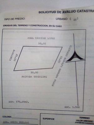 Vendo Terreno A 5 Minutos De Apizaco Tlaxcala