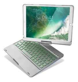 Capa 360° Teclado Retroiluminado iPad Air 2 New iPad 6 9.7