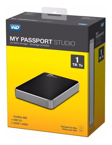 Wd My Passport Studio 1 Tb Mac Firewire 800 / Usb 2.0