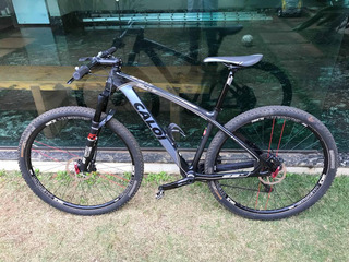 Caloi Elite Carbon Sport Com Upgrades