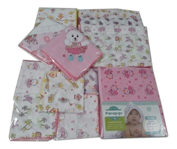 Kit Tudo Para Enxoval De Bebê 21 Peças Menina