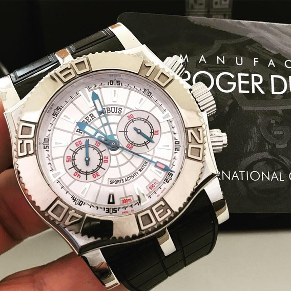 Roger Dubuis Easy Diver Chronograph 46mm Completo