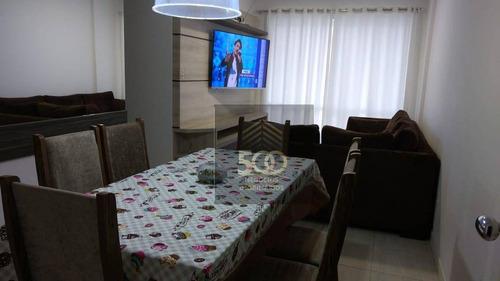 Apartamento Com 3 Dormitórios À Venda, 80 M² Por R$ 638.999,00 - Estreito - Florianópolis/sc - Ap1890