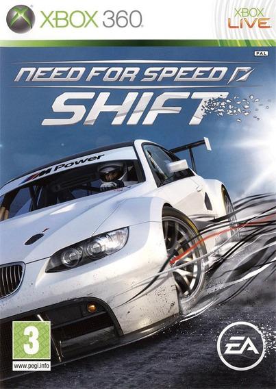 Jogo Novo Lacrado Need For Speed Shift Para Xbox 360