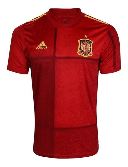 Camisa Seleção Espanha Home 20/21 S/n° Pronta Entrega