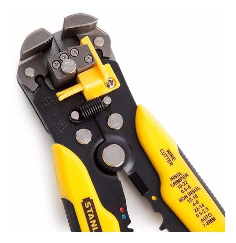 Imagen 1 de 10 de Alicate Pela-cable Auto Ajustable 96-230 Stanley