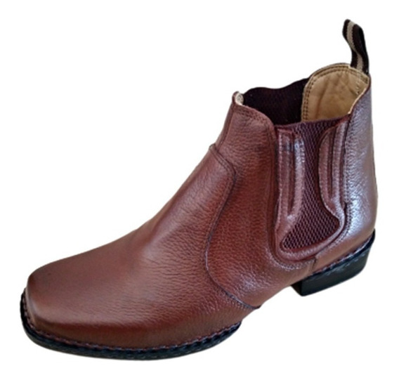 Botina Masculina Country Costura Manual