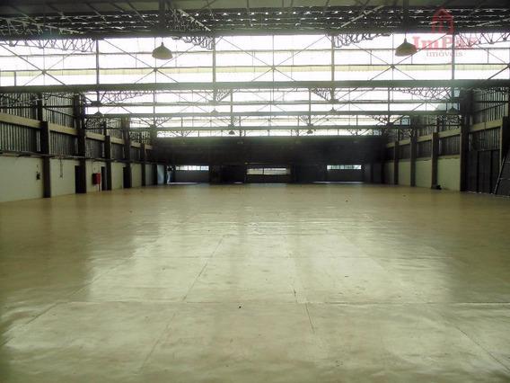Galpão Para Alugar, 1800 M² Por R$ 22.800/mês - Cidade Planejada Ii - Bragança Paulista/sp - Ga0072