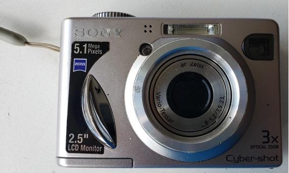 Câmera Sony Cyber-shot Dsc-w5