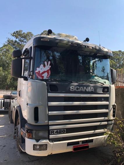 Scania R124 6x2