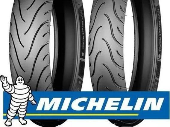 Pneu Michelin Fan Cg Fazer 150 160 125 Cilindradas