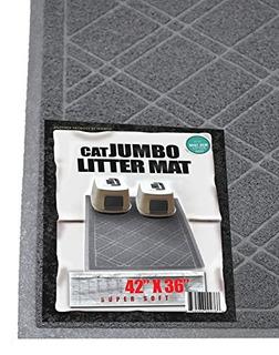 Iprimio Aserrín De Gato Con Caja De Diseño De Cuadros Jumb