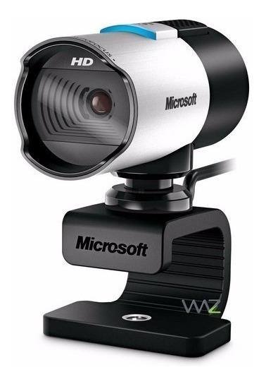 Web Cam Life Cam Studio Microsoft Q2f-00013 Usb 2.0 Lacrada