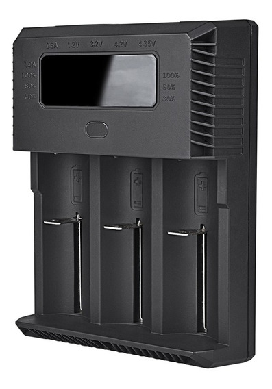 Cargador Baterias Trustfire Tr-018 26650 21700 18650 Aa Aaa
